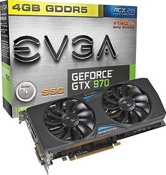 EVGA - GeForce GTX 970 4 GB GDDR5 Tarjeta Gráfica PCI ...