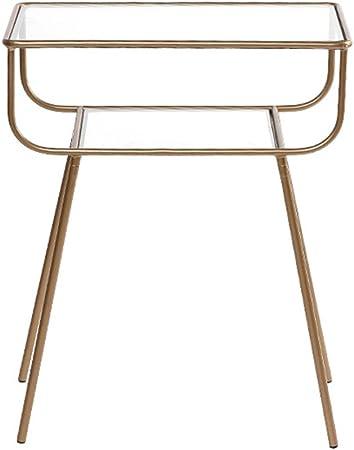 Ymxljf Table De Chevet Table De Chevet En Verre Table De Lecture