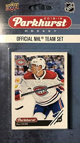 Montreal Canadiens 2018 2019 Upper Deck PARKHURST Series Factory Sealed Team Set Including Carey Price, Shea Weber and a Rookie Card of Jesperi Kotkaniemi Plus 7 Others (Team Canadiens Montreal Set)
