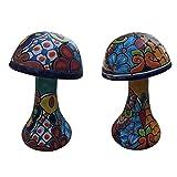 Avera Garden Mushroom 8″ (Set of 2)
