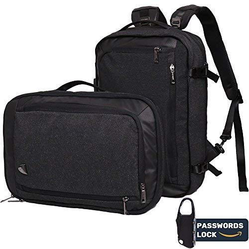 8bdd4f8148ed Laptop Backpack, Work Business School Travel Backpack 2 in 1 Multi-wear  Innovative Anti