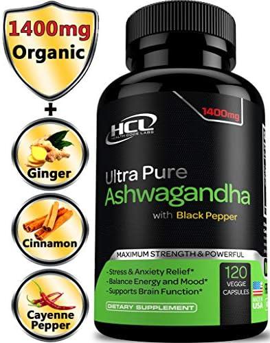 Organic Ashwagandha Capsules Powder Extract product image