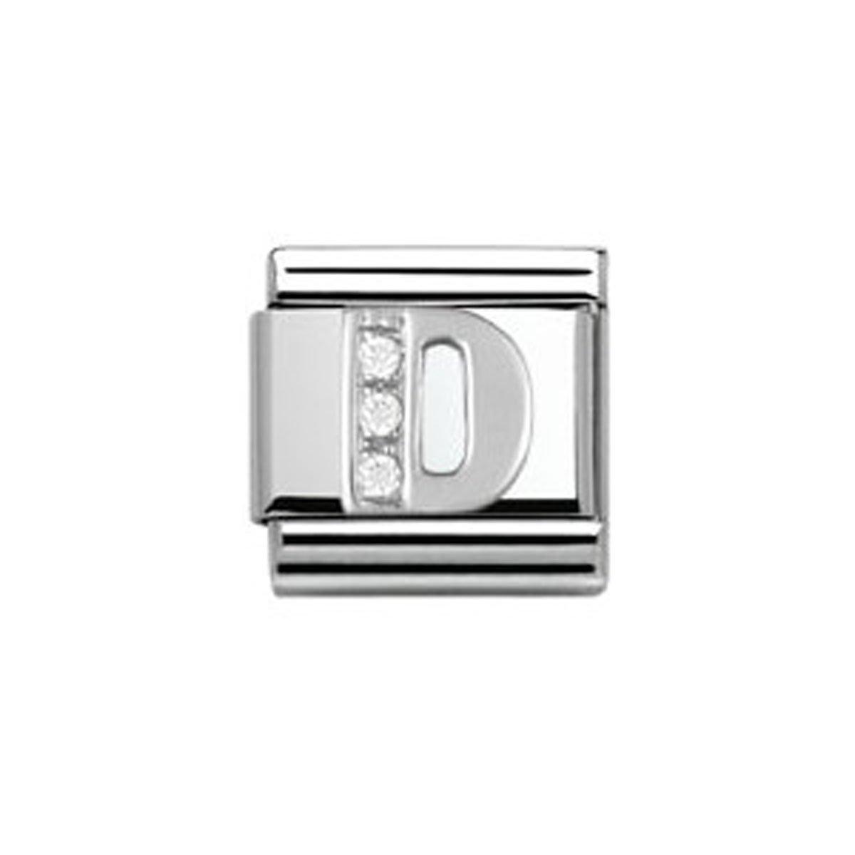 Nomination - 330301/04 - Maillon pour bracelet composable Femme - Argent 925/1000 Classic