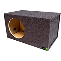 SQ -12LSVDD Soundqubed-12 Soundqubed Single Vented SPL, Sounqubed woofer specific enclosure certified