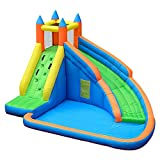 Best Inflatable Water Slides - Doctor Dolphin Inflatable Bounce Slide Water Park Bouncy Review