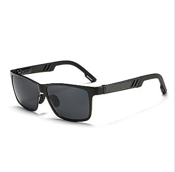 Herren Sonnenbrillen Aluminium-Magnesium-Legierung Sonnenbrillen Mode Sonnenbrillen Fahren Und Fahren Polarisieren Sonnenbrillen Outdoor-Sonnenbrillen,Black