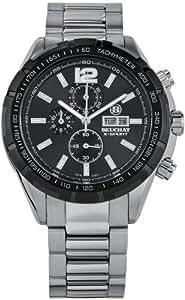 Beuchat BEU0440-1 - Reloj para hombres, correa de acero