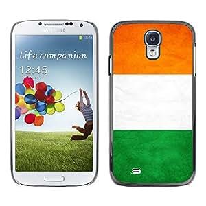 YOYO Slim PC / Aluminium Case Cover Armor Shell Portection //Cost D'Ivoire Grunge Flag //Samsung Galaxy S4