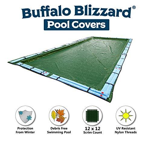 Buffalo Blizzard 16/' x 36/' SUPREME PLUS Rectangle Swimming Pool Winter Cover