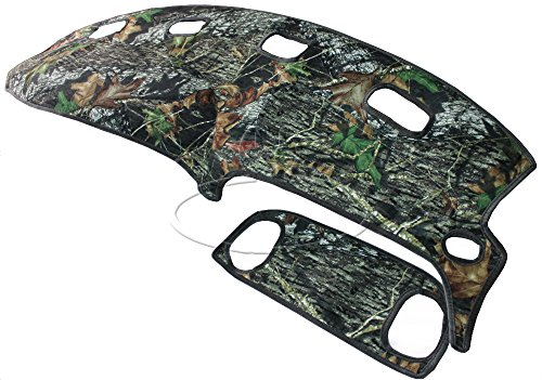 Custom Camouflage Dash Cover in Mossy Oak Break-Up Camo for 1998-2001 Dodge Ram Truck