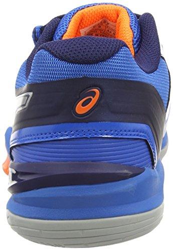 de Silver Handball Gel Orang Electric Bleu Chaussures 3993 Asics 6 Blast Homme Blue Hot vwIcqqXSW