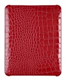 Hard Alligator Case for Apple iPad (Original iPad) - Red