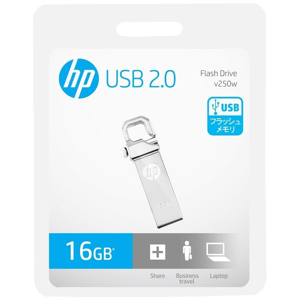 61710287112 HP V250 16GB USB 2.0 Pen Drive - Buy HP V250 16GB USB 2.0 Pen Drive Online  at Low Price in India - Amazon.in