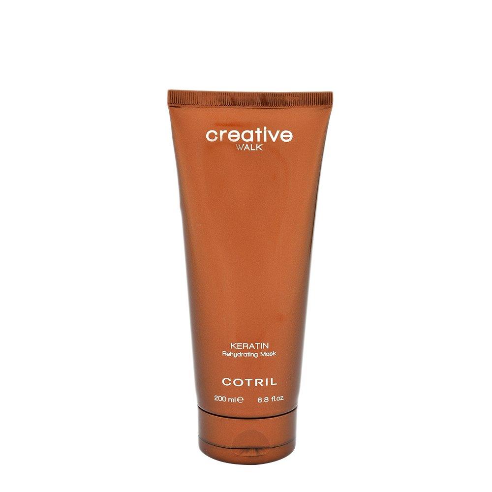 COTRIL - CREATIVE WALK KERATIN - Rehydrating Mask (200ml) - Maschera per capelli
