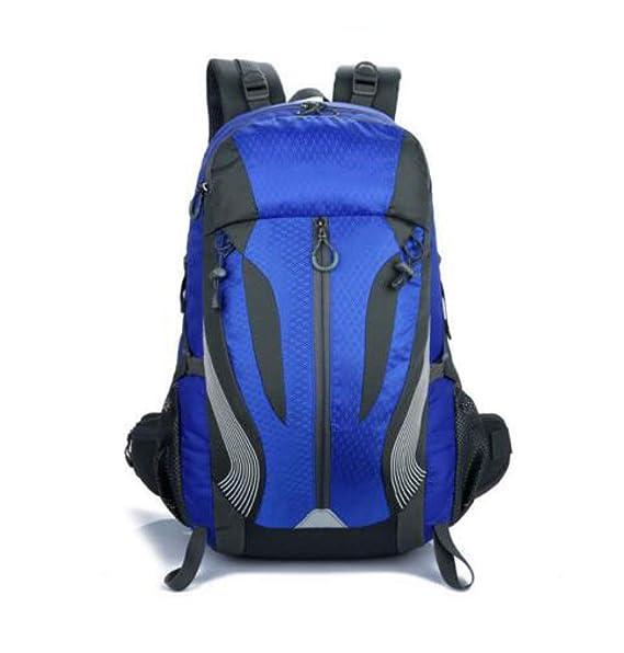Mochila Para Laptop Al Aire Libre Deportes Bolsa El Alpinismo Mochila Para Hombres Mujeres Mochilas Bolsas De Viaje,Blue-OneSize: Amazon.es: Ropa y ...
