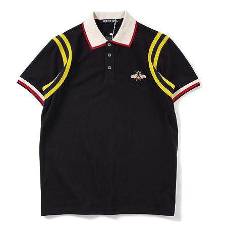 Belingeya-cl Camiseta de Hombre Camisa Polo de los Hombres Color ...