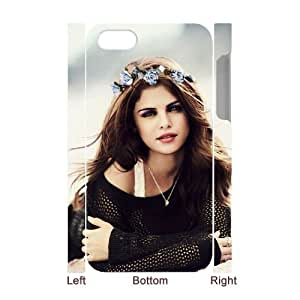 Personalized Protective Hard 3D Plastic Case for Iphone 4,4S - Selena Gomez custom 3D case at CHXTT-C