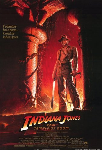 Indiana Jones And The Temple Of Doom Poster Movie  27 X 40 Inches   69Cm X 102Cm   1984   Style B