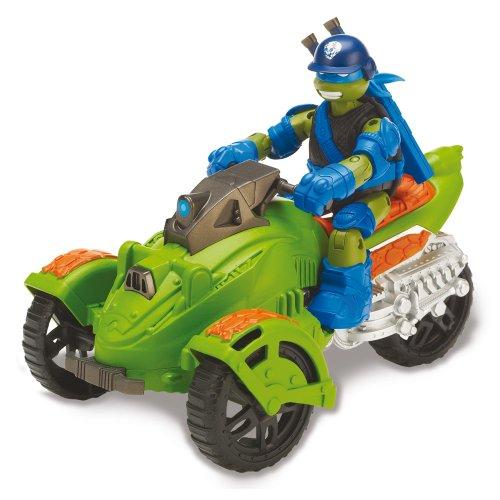 Tortugas Ninja - Vehículo AT3 y Leonardo (Giochi Preziosi 40003) , Modelos/colores Surtidos, 1 Unidad