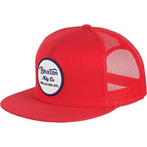 3a71906f130 Brixton Men s Wheeler Medium Profile Adjustable Mesh Hat