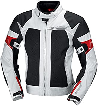 Light Grey//Red, X-Large IXS Mens Andover Jacket