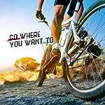 FISHOAKY-Cavalletto-Bici-Cavalletto-Bicicletta-Stand-Regolabile-Alluminio-Lega-Cavalletto-Laterale-con-Il-Piedino-di-Gomma-Antiscivolo-24-28-Mountain-Bike-Bici-da-Strada-MTB-Bici