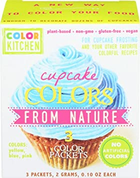All Natural Cupcake Icing Coloring Set (PINK, YELLOW, and BLUE) from ...