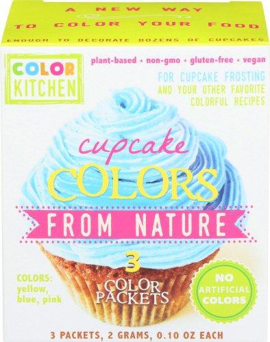 All Natural Cupcake Icing Coloring Set (Pink, Yellow, and ...