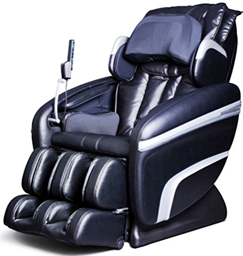Price comparison product image Osaki OS7200HA Model OS-7200H Executive ZERO GRAVITY S-Track Heating Massage Chair, Black, Computer Body Scan, Arm Massage, Quad Roller Head Massage System, 51 Air Bag Massagers, MP3 & iPod Connection with Built-in Speakers
