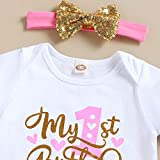 Baby Girl Birthday Cake Smash Outfit Toddler Girl