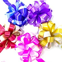 MAISHO Double colors Pull Bow for Wedding Decoration Christmas Gift Wrapping , 10 Pcs