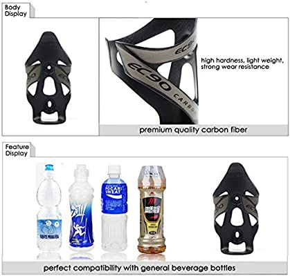 OFF-Road Mountain Bike bicycle Cycling Carbon fiber Water Bottles Holder CagADE