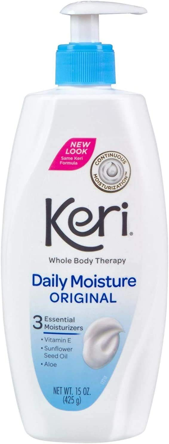 Keri Original Daily Dry Skin Therapy Manufacturer direct delivery 15 of store oz Pack Lotion