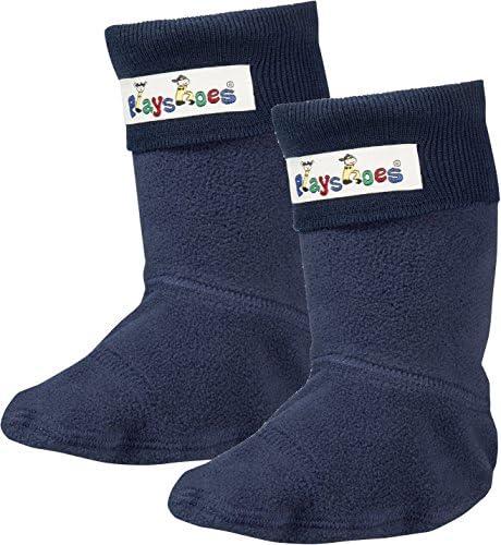 Playshoes Mädchen Fleece-Stiefel Socken,