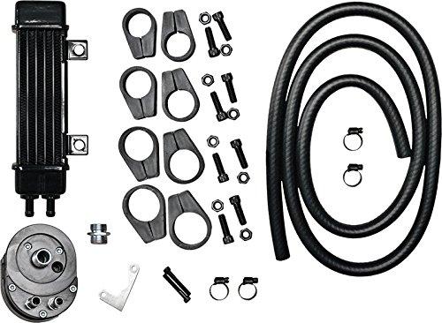 Jagg Oil Cooler Adapters - Jagg Vertical Frame-Mount Oil Cooler Kit 750-1200