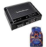 Rockford Fosgate Prime R500X1D 500 Watt RMS Mono Car Class D Amplifier+Amp Kit