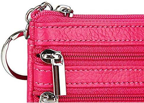 Gimax Coin Purses Color: 14 Men Women Coin Purses Solid Mini PU Leather Unisex Casual Solid Portable Small Zipper Coin Money Wallets Pochette 16 Colors