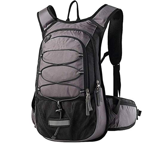 - charmsamx 3L Waterproof Lightweight Packable Durable Travel Hiking Backpack Foldable Daypack Great for Hiking, Running, Cycling, Running, Camping and Climbing (black)
