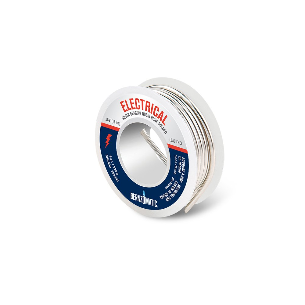 BernzOmatic SRC800 8 oz. Lead Free Rosin Core Solder