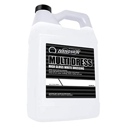 Nanoskin High Gloss Water Based, Silicone White Tire Dressing [NA-MDS128], 1 Gallons: Automotive