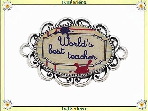 1 Magnete Migliore Insegnante Ardesia Rosso Inchiostro Blu