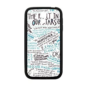 DAZHAHUI The Fault in Our Stars Okay? Okay Printed Cell Phone Case for Samsung Galaxy S4