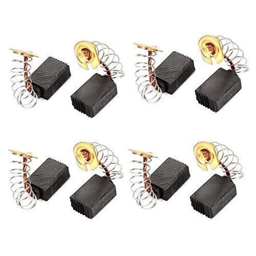 8 Pcs taladro el/éctrico de motor escobillas de carb/ón 12 mm x 9 mm x 6 mm