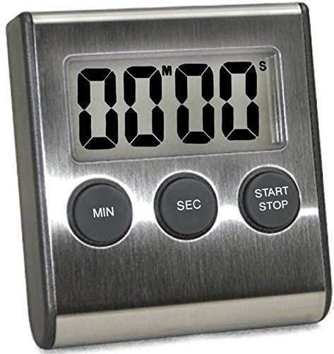 Kitchen Timer Stainless Magnetic Shut Off product image