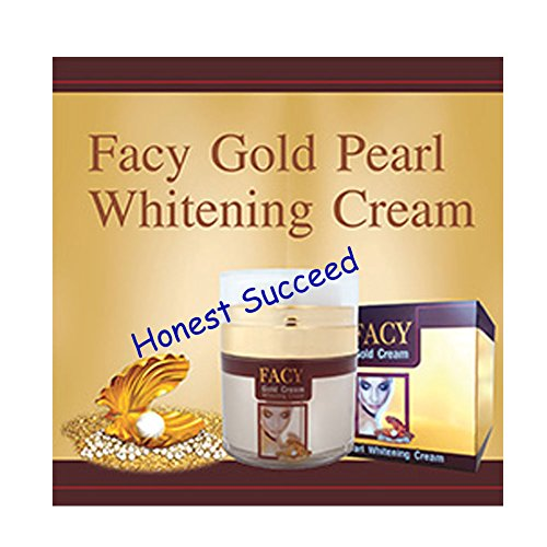 Facy Gold Pearl Whitening Cream 30 G.(Honest Succeed)