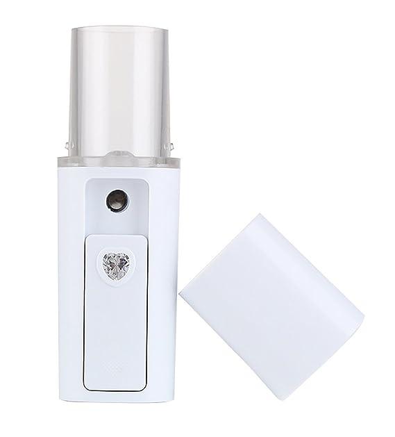 Kapmore Rociador Facial Humectante Recargable Cara Facial Vaporizador Facial (White): Amazon.es: Belleza