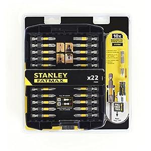 STANLEY STA88040-XJ Juego de 22 piezas para atornillar, 0 W, 0 V 51EToZQRUOL. SS300