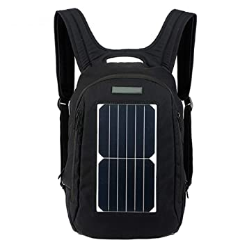 HBAOT Mochila de Senderismo 20l,con Cargador Solar para teléfonos Mochila Viaje Deportes Mochila de