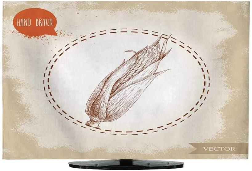 Cubierta para el Polvo de la Tela, diseño de Calabazas Dibujadas a Mano, con una Letra 130/32: Amazon.es: Electrónica