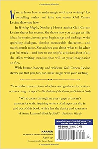 Writing Magic: Creating Stories that Fly: Gail Carson Levine ...